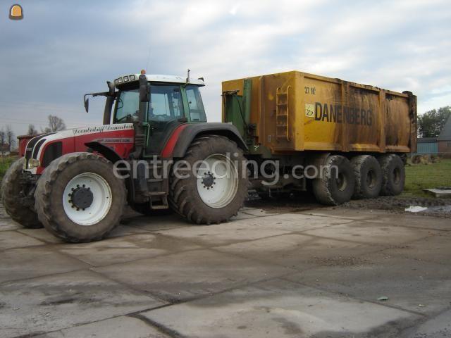 Tractor + carrier Kurstjens 3 Asser