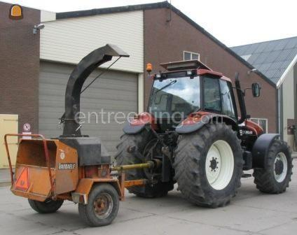 Tractor + houtversnipperaar Vandale type 250