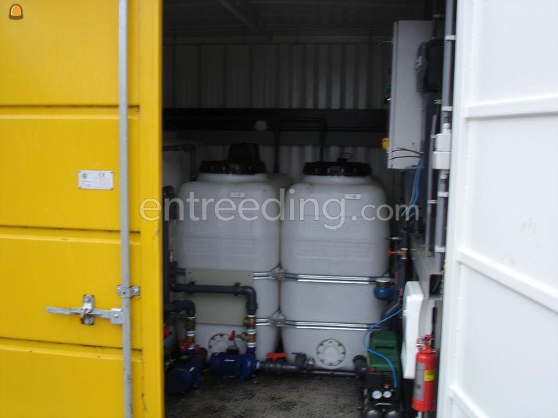 Grondwaterzuiverings-installaties waterzuiveringsinstallatie