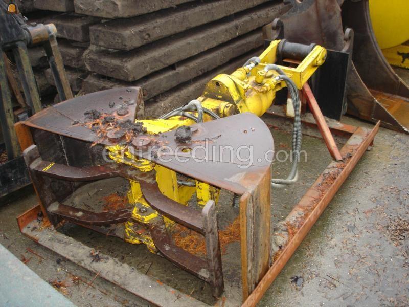 Onderdelen/ toebehoren hydraulische knijper roterend