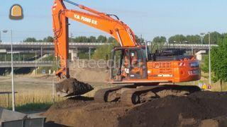 Doosan DX225LC-3 Omgeving Schagen