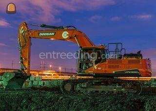 DOOSAN DX340LC-5 Omgeving Zoetermeer