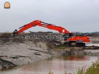 long reach Doosan DX300 Omgeving Zoetermeer