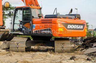 Doosan DX255LC-5 Omgeving Zoetermeer