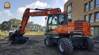 Doosan DX170W-5/DKS Omgeving Zoetermeer