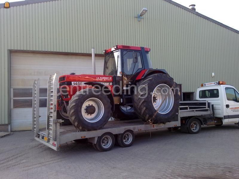Dieplader / oprijwagen Iveco + veldhuizen