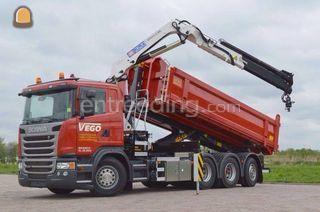 Scania G410 8*4 Omgeving De Drechtsteden