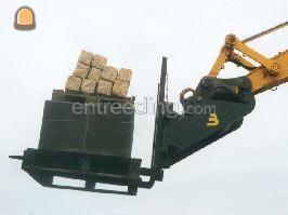 Palletvorkenborden 4x Beco 4-Tons CW-2 uitvoering