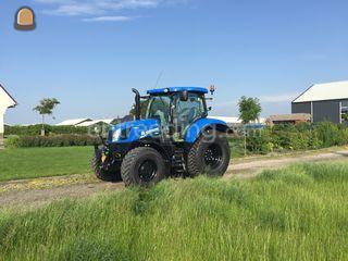 New Holland T6 160ac Omgeving Rotterdam