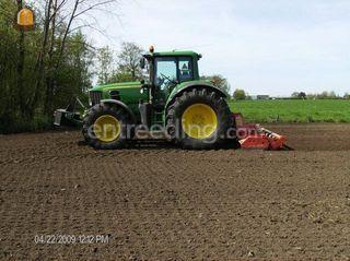 John Deere + Roterkopeg Omgeving Alphen a/d Rijn