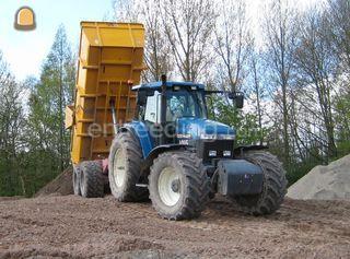 Tractor/Kipper met kleppe... Omgeving Lisse