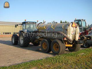 Tractor + waterwagen Omgeving Lisse