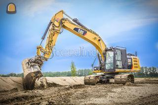 Caterpillar 323E Omgeving Veghel