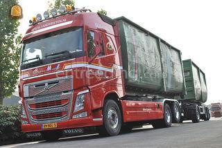 Volvo 6x2 containerwagen Omgeving Veghel