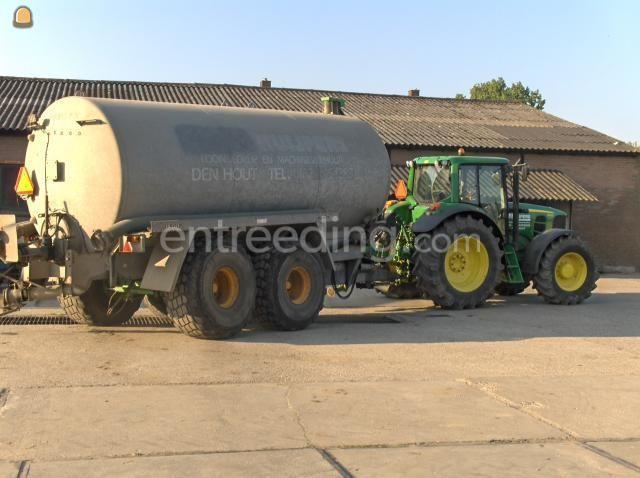 Tractor + waterwagen john-deere 6630+ joskin 20 kuub