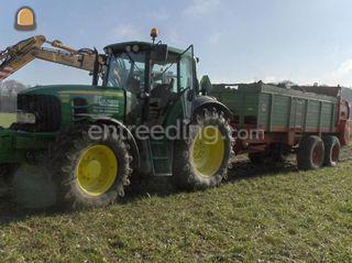 tractor + tebbe breedstro... Omgeving Oosterhout