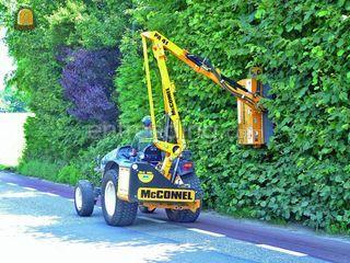 Verbazingwekkend Wegenbouw.be - Tractor + aanbouwheggenschaar Te huur met bediening. IK-36