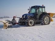 tractor+zoutstrooier en schuif