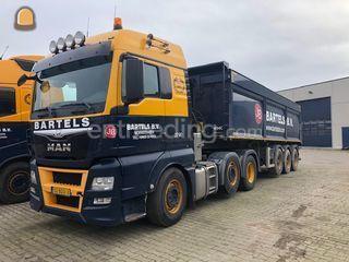 MAN TGX EURO6 Trailer Omgeving Roosendaal