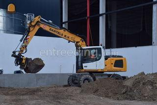 Liebherr A918 Litronic Omgeving Roosendaal