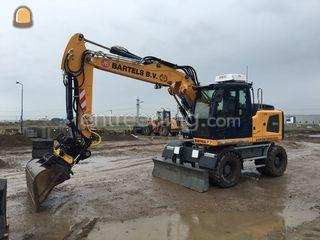Liebherr A914 Litronic Omgeving Roosendaal