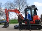 Kubota mini kraan
