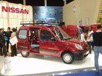 De Nissan Kubistar is als twee druppels water met de Renault Kangoo