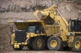 Cat 777G dumptruck