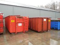 Gestolen containers