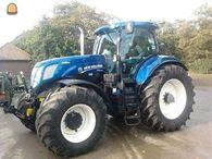 Gestolen NH T7 tractor