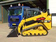 Cat 259D schranklader