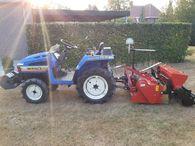Gestolen Iseki tractor + zaaicombinatie