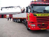 Scania 450 stenentrailer