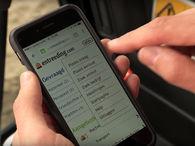 Entreeding.com mobiele site