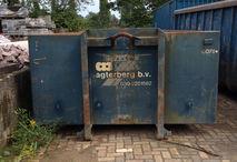 een container als deze is ontvreemd