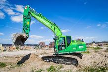 Kobelco SK210LC excavator
