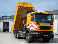 Scania G410 6x6