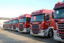 8 Scania's