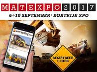 Gratis toegang Matexpo 2017