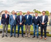 Foto v.l.n.r.: Paul Kumpen, Johan Willemen, Tom Willemen, Jan Kumpen, Robert Kumpen, Johan Ceyssens
