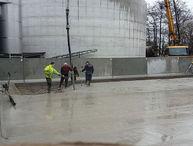 Foto: betonwerken door firma Geiregat uit Temse