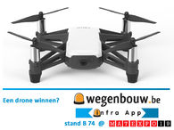 Win een drone met Wegenbouw.be