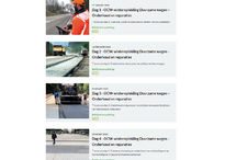 afbeelding: nieuwe website Opzoekingscentrum voor de Wegenbouw