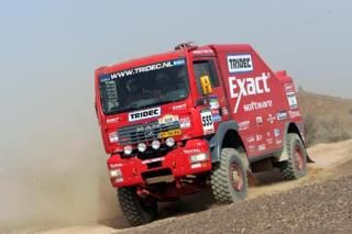 Hans Stacey's MAN-truck in Le Dakar 2005