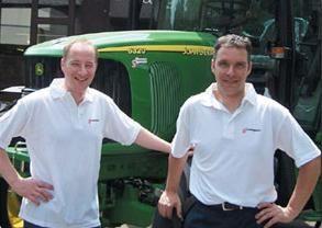 Sijmen Staadegaard (L) en John van de Moosdijk (R)