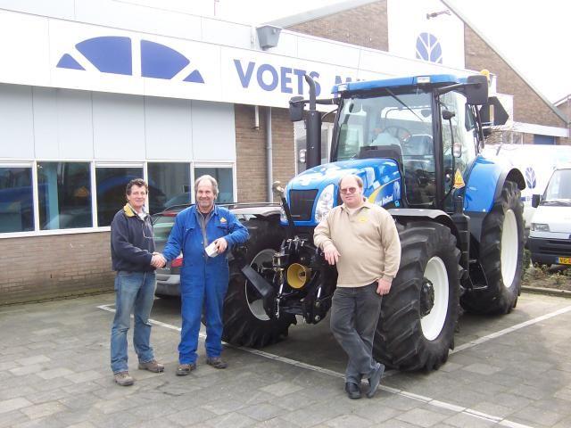 vlnr: Jan Schut van Voets, Piet Oudejans en Arno Kramer