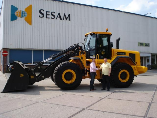Op de foto Gerald Wesselink van Nijland Service met Peter Eilander van Sesam.