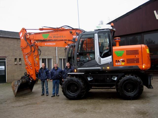 van links naar rechts: Ton Junte, Cor de Waard (directeur) en Adrie Bastiaanet