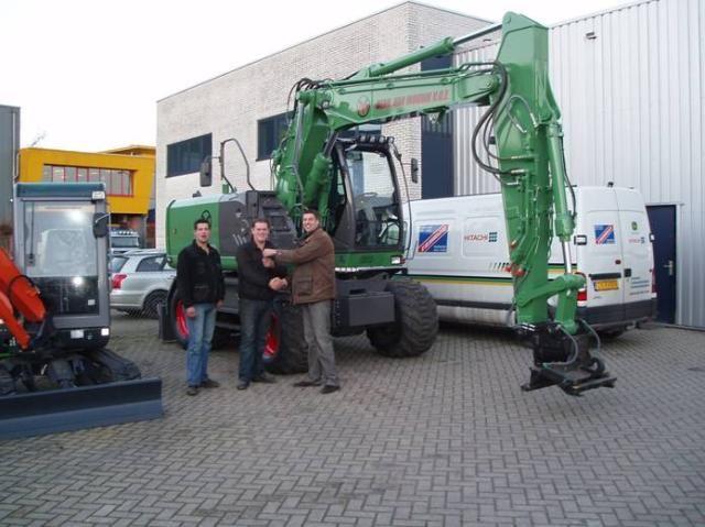 Deze machine is geleverd  door  vertegenwoordiger Rene Doornenbal