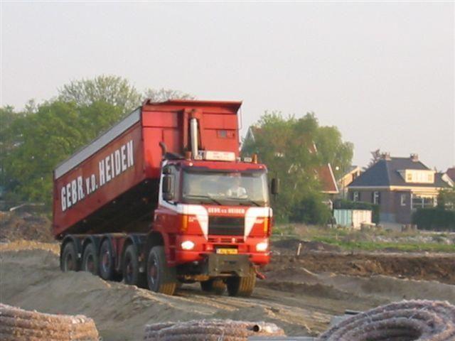 De gestolen vrachtwagen